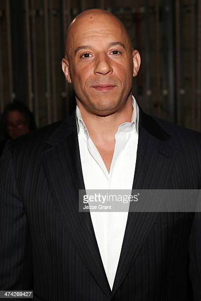 Actor Vin Diesel attends the 45th NAACP Image Awards presented by TV One at Pasadena Civic Auditorium on February 22 2014 in Pasadena California