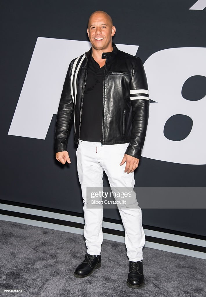"""""""The Fate Of The Furious"""" New York Premiere : News Photo"""