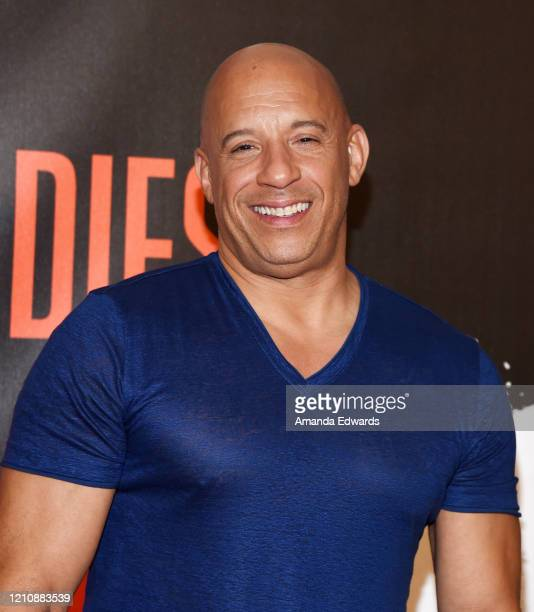 """Actor Vin Diesel attends the photocall of Sony Pictures' """"Bloodshot"""" at The London Hotel on March 06, 2020 in West Hollywood, California."""