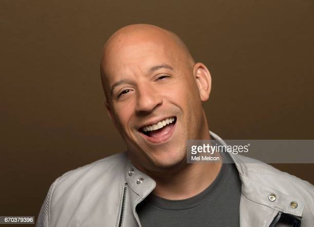 Actor Vin Diesel is photographed for Los Angeles Times on March 31 2017 in Los Angeles California PUBLISHED IMAGE CREDIT MUST READ Mel Melcon/Los...