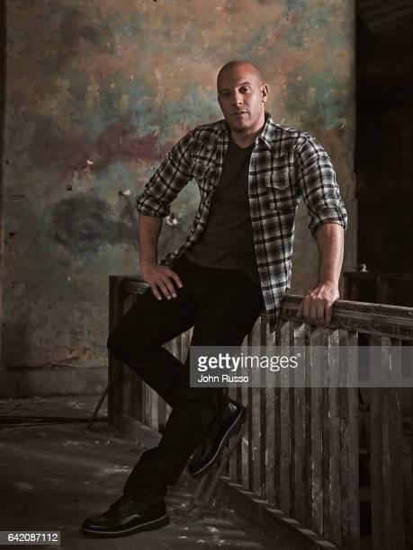 Actor Vin Diesel is photographed on November 4 2016 in Los Angeles California
