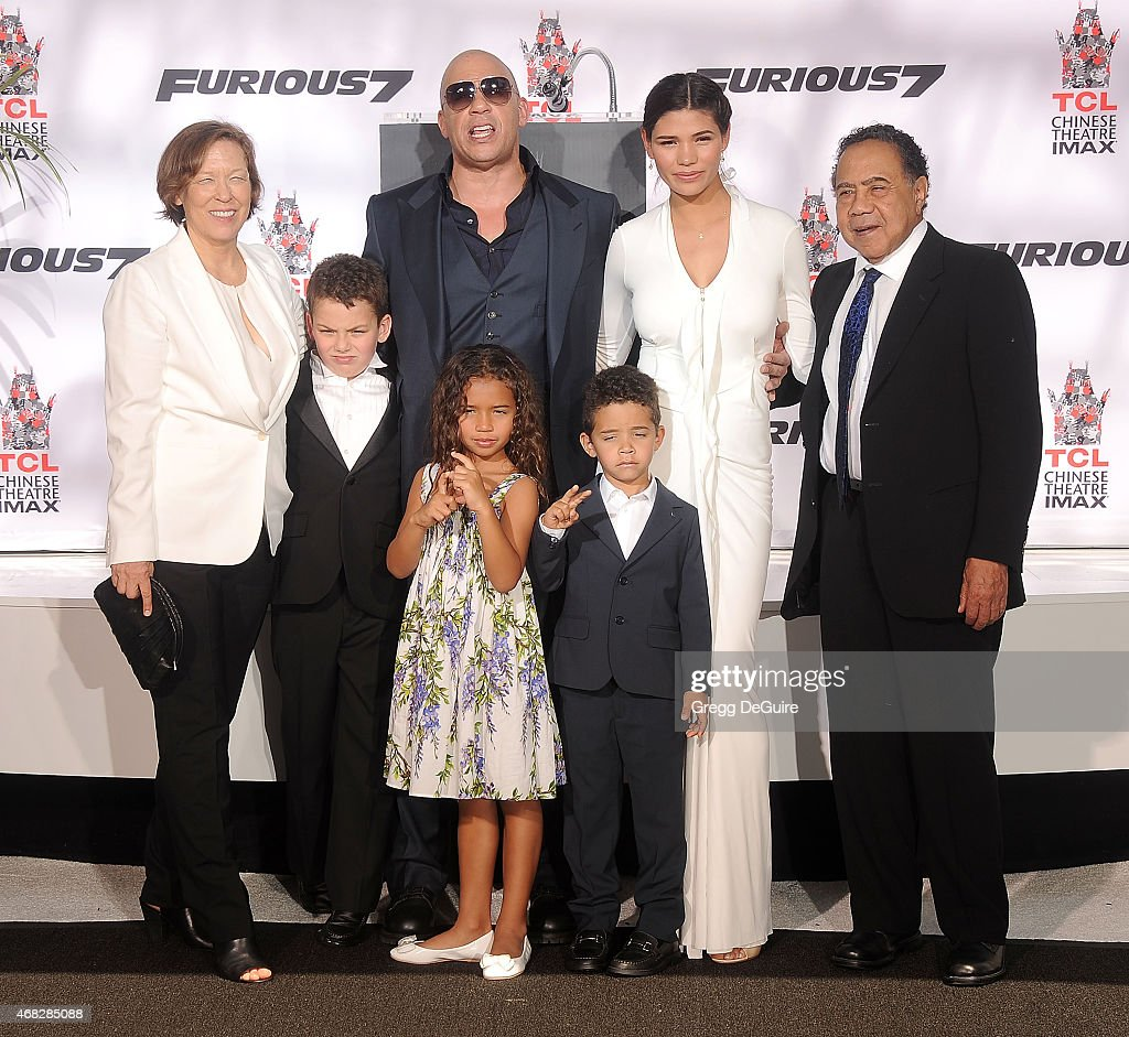 Vin Diesel Hand/Footprint Ceremony At TCL Chinese Theatre : News Photo