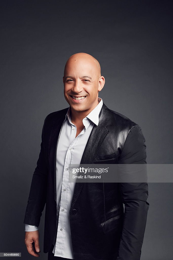 Actor Vin Diesel poses for a portrait at the 2016 People's Choice Awards at the Microsoft Theater on January 6, 2016 in Los Angeles, California.