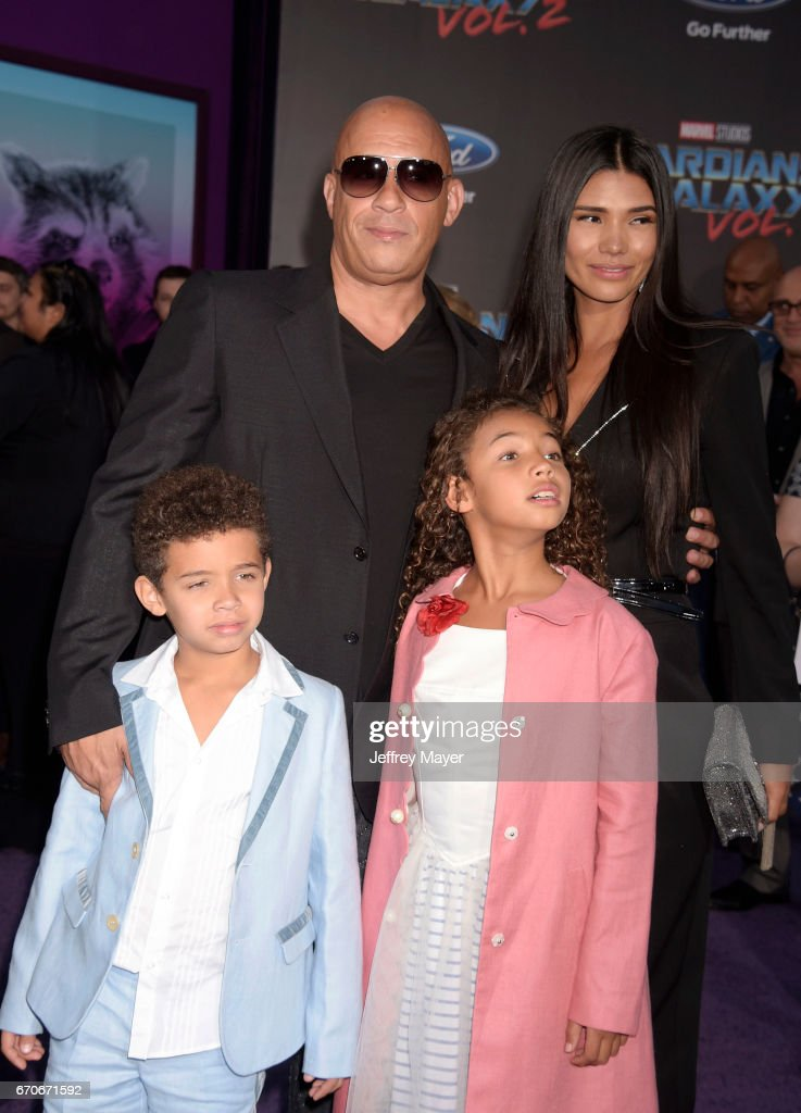 Actor Vin Diesel Wife Paloma Jimenez Son Vincent Sinclair And News Photo Getty Images