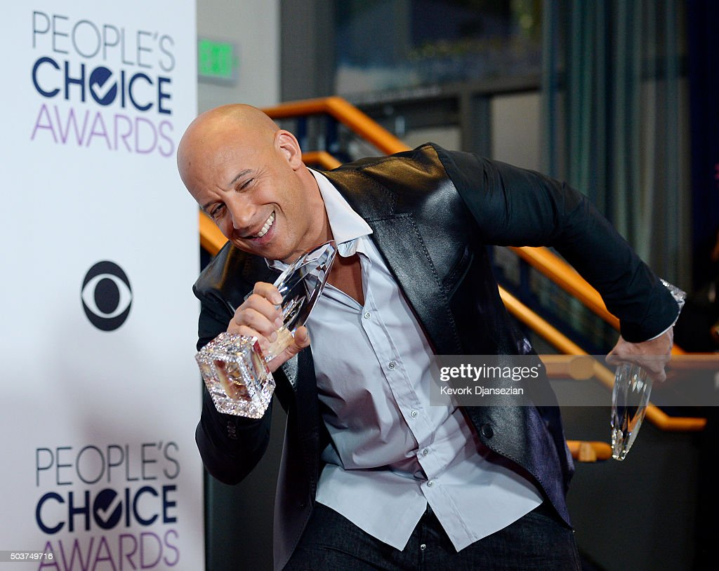 People's Choice Awards 2016 - Press Room