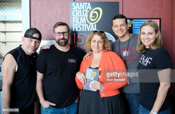 Actor Vince Lozano producer Markus Linecker executive producer Mehtap Yildizhan Director Alex D'Lerma and Actress Linda Burzynski appear for their...