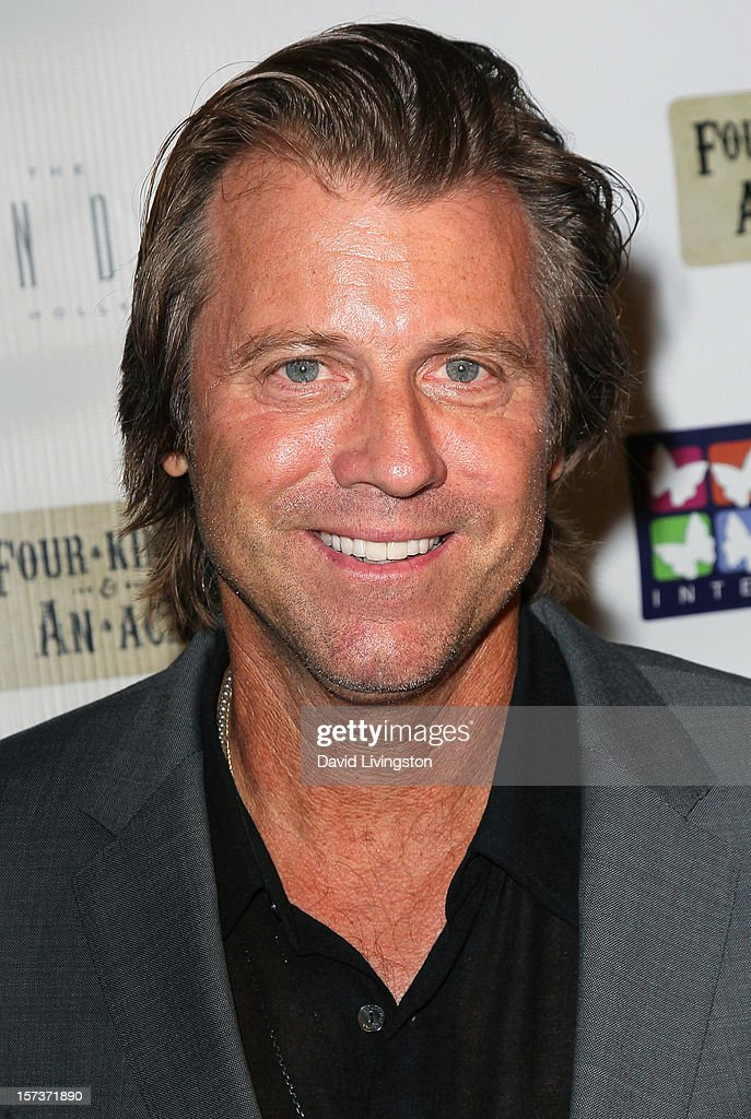 Actor Vince Van Patten attends Mending Kids International's 'Four Kings & An Ace' Celebrity Poker Tournament at The London Hotel on December 1, 2012 in West Hollywood, California.