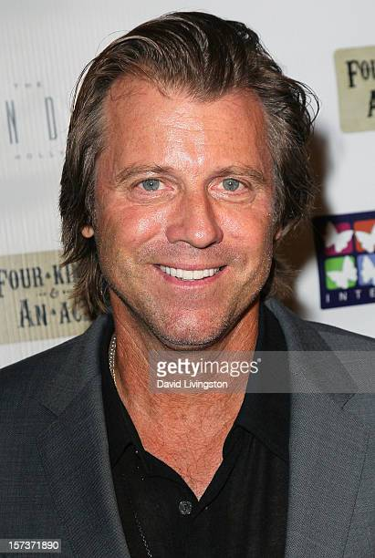 Actor Vince Van Patten attends Mending Kids International's Four Kings An Ace Celebrity Poker Tournament at The London Hotel on December 1 2012 in...