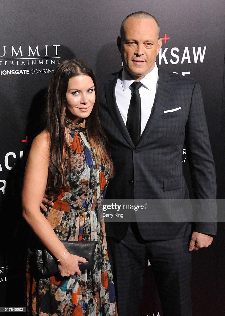 Vince Vaughn Kyla Weber >> Actor Vince Vaughn And Wife Kyla Weber Attend Screening Of
