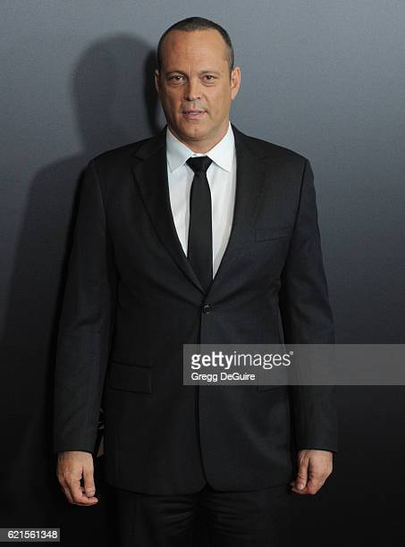 Actor Vince Vaughn arrives at the 20th Annual Hollywood Film Awards at The Beverly Hilton Hotel on November 6 2016 in Los Angeles California