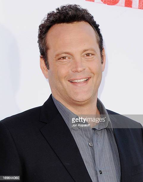 "Actor Vince Vaughn arrives at the Los Angeles Premiere ""The Internship"" at Regency Village Theatre on May 29, 2013 in Westwood, California."