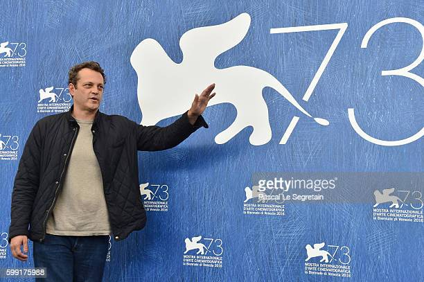 Actor Vince Vaughn attends a photocall for 'Hacksaw Ridge' during the 73rd Venice Film Festival at Palazzo del Casino on September 4 2016 in Venice...