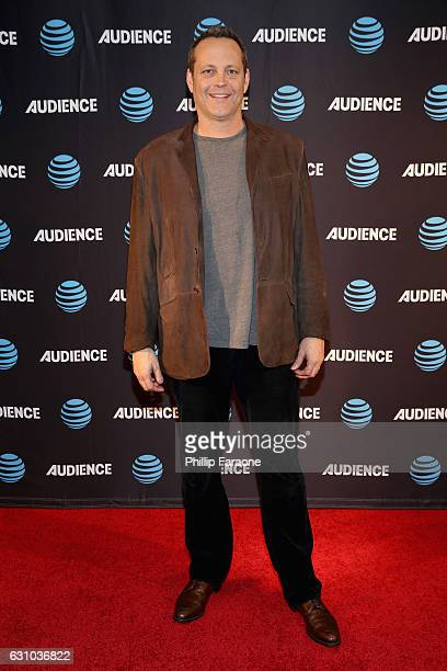 Actor Vince Vaughn attends ATT AUDIENCE Network Presents at 2017 Winter TCA at Langham Hotel on January 5 2017 in Pasadena California