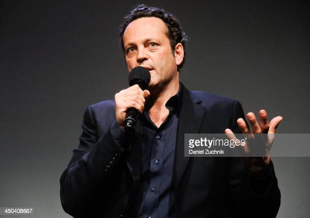 Actor Vince Vaughn attends Meet The Actor at Apple Store Soho on November 18 2013 in New York City