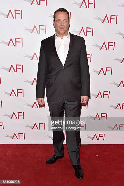 Actor Vince Vaughn attends the 17th annual AFI Awards at Four Seasons Los Angeles at Beverly Hills on January 6 2017 in Los Angeles California
