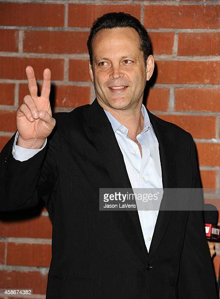 Actor Vince Vaughn attends the 2014 Baby2Baby gala at The Book Bindery on November 8, 2014 in Culver City, California.