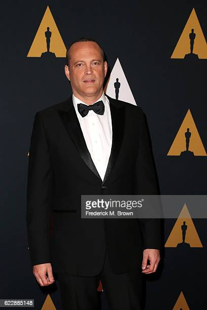 Actor Vince Vaughn attends the Academy of Motion Picture Arts and Sciences' 8th annual Governors Awards at The Ray Dolby Ballroom at Hollywood...