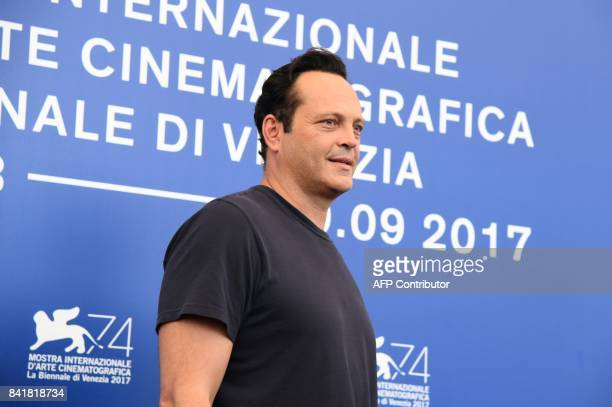US actor Vince Vaughn attends the photocall of the movie Brawl In Cell Block 99 presented out of competition at the 74th Venice Film Festival on...
