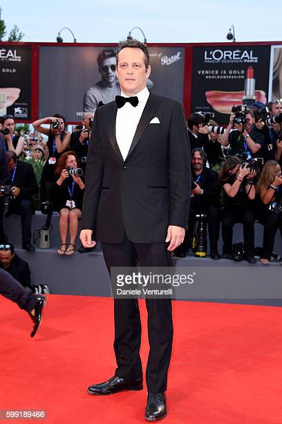 Actor Vince Vaughn attends the premiere of 'Hacksaw Ridge' during the 73rd Venice Film Festival at Sala Grande on September 4 2016 in Venice Italy