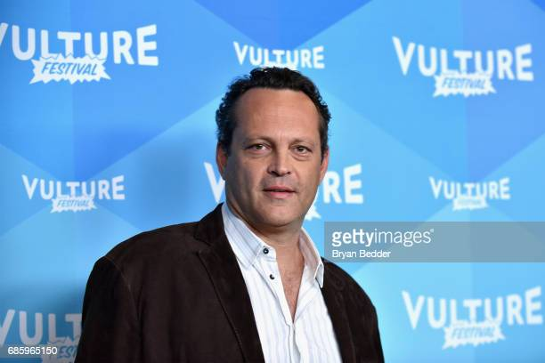 Actor Vince Vaughn attends Tim Ferriss and Vince Vaughn In Conversation at the 2017 Vulture Festival at Milk Studios on May 20 2017 in New York City
