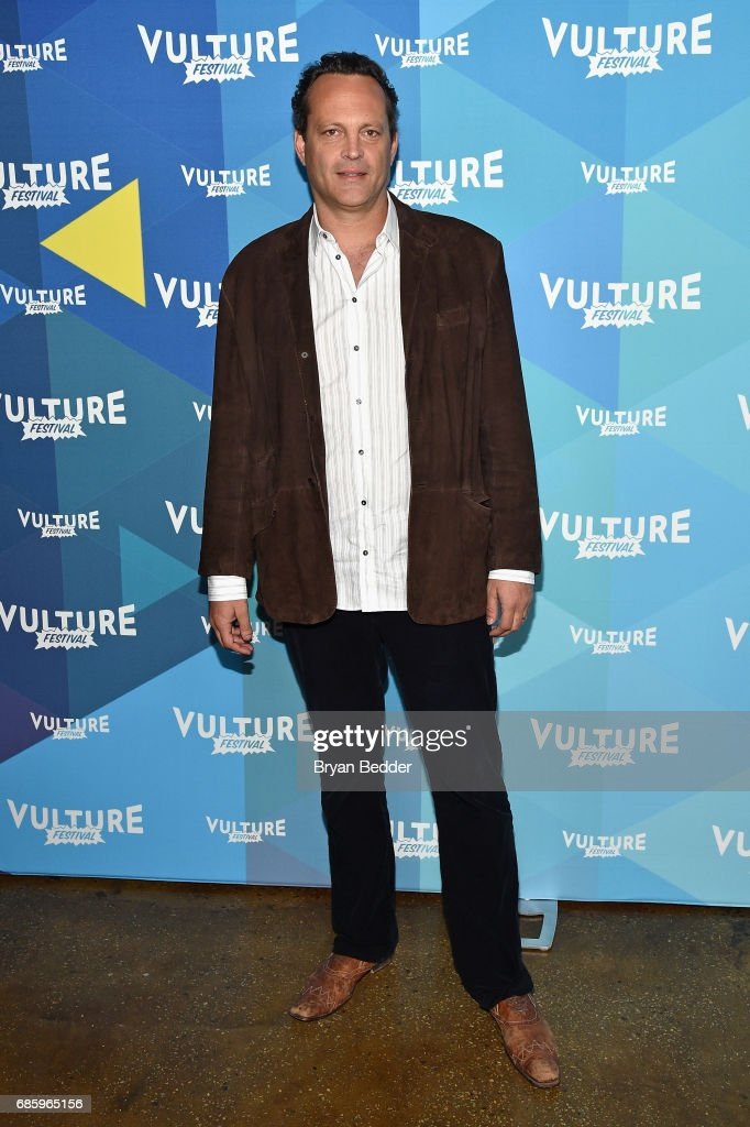 Actor Vince Vaughn attends Tim Ferriss and Vince Vaughn: In Conversation at the 2017 Vulture Festival at Milk Studios on May 20, 2017 in New York City.