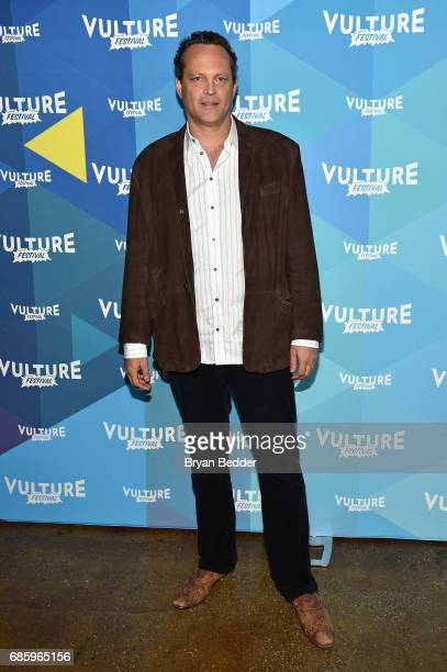 Actor Vince Vaughn attends Tim Ferriss and Vince Vaughn: In Conversation at the 2017 Vulture Festival at Milk Studios on May 20, 2017 in New York...