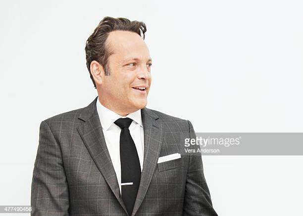 Actor Vince Vaughn poses for a portrait at the 'True Detective' Press Conference at the Four Seasons Hotel on June 05 2015 in Beverly Hills California