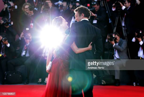 Actor Vincent Cassel and Actress Natalie Portman attend the Opening Ceremony and 'Black Swan' premiere during the 67th Venice Film Festival at the...