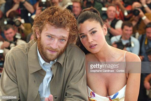 Actor Vincent Cassel and his wife Monica Bellucci. News ...