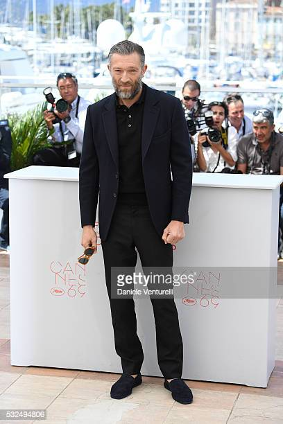 Actor Vincent Cassel attends 'It's Only The End Of The World ' during the Photocall - The 69th Annual Cannes Film Festival on May 19, 2016 in Cannes,...