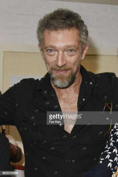 Actor Vincent Cassel attends the Havaianas Loves Samba Concert Party at Alcazar on June 28 2017 in Paris France