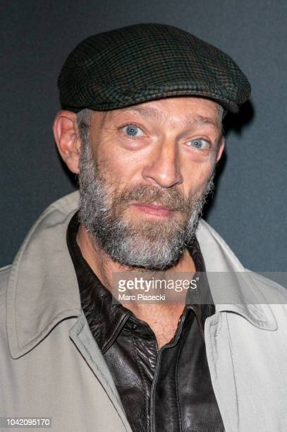 Actor Vincent Cassel attends the Prive Revaux Eyewear Photocall at Cafe de l'Homme as part of the Paris Fashion Week Womenswear Spring/Summer 2019 on...