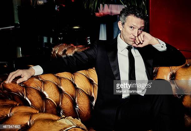 Actor Vincent Cassel is photographed for GQ Brazil on August 6 2014 in Paris France