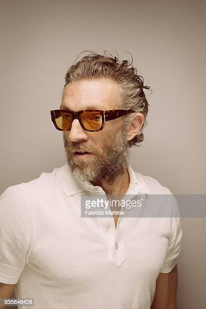 Actor Vincent Cassel is photographed for The Hollywood Reporter on May 14 2016 in Cannes France