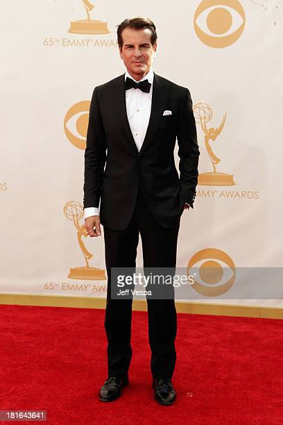 Actor Vincent De Paul arrives at the 65th Annual Primetime Emmy Awards held at Nokia Theatre LA Live on September 22 2013 in Los Angeles California