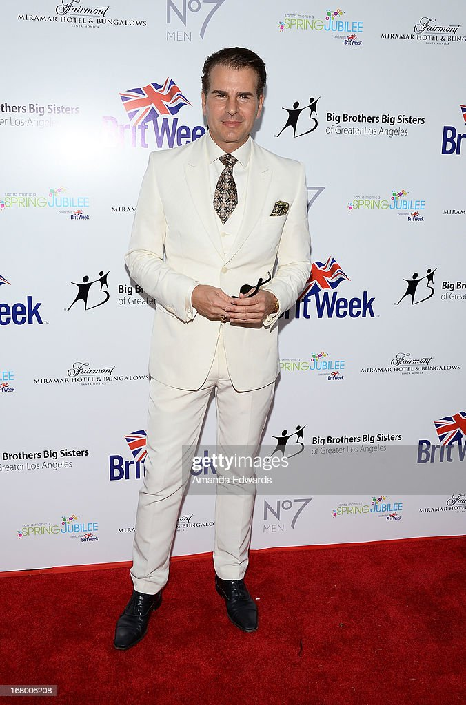 Actor Vincent De Paul arrives at the 'Downton Abbey' Britweek celebration at the Fairmont Miramar Hotel on May 3, 2013 in Santa Monica, California.