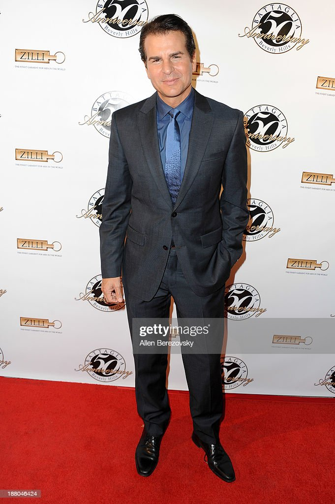 Actor Vincent De Paul attends the Battaglia's 50th Anniversary of Quality & Elegance Celebration on November 14, 2013 in Beverly Hills, California.