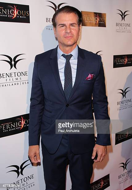 Actor Vincent De Paul attends the premiere 'PERNICIOUS' at Arena Cinema Hollywood on June 19 2015 in Hollywood California
