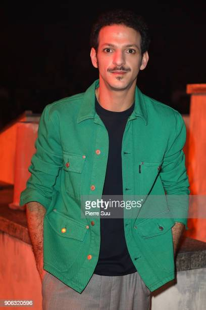 Actor Vincent Dedienne attends the Ami Alexandre Mattiussi Menswear Fall/Winter 20182019 show as part of Paris Fashion Week on January 18 2018 in...