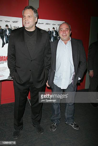 Actor Vincent D'Onofrio and President of Anchor Bay Entertainment Bill Clark attend the premiere of Kill the Irishman at Landmark's Sunshine Cinema...