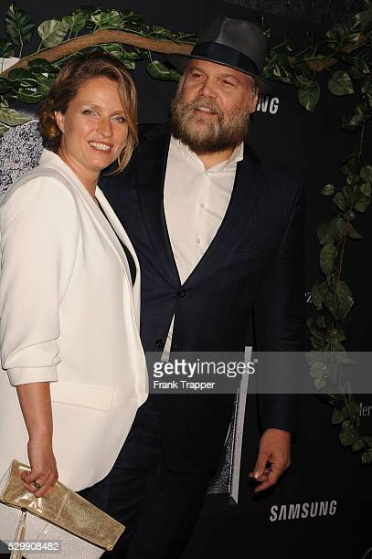 Actor Vincent D'Onofrio and wife Carin van der Donk arrive at the premiere of Jurassic World held at the Dolby Theater in Hollywood