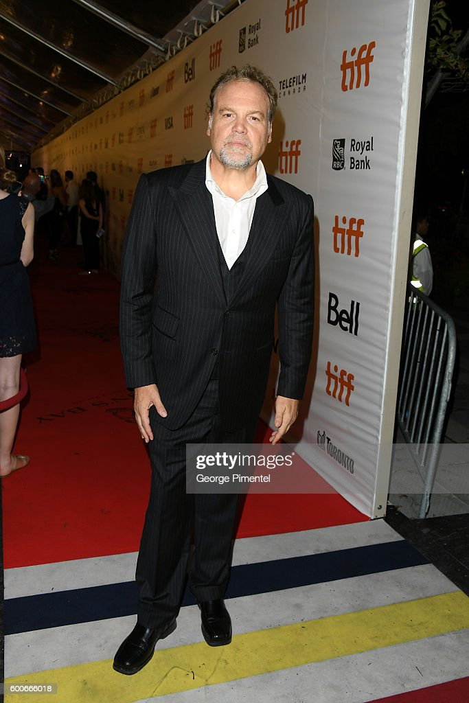 Actor Vincent D'Onofrio attends 'The Magnificent Seven' premiere during the 2016 Toronto International Film Festival at Roy Thomson Hall on September 8, 2016 in Toronto, Canada.
