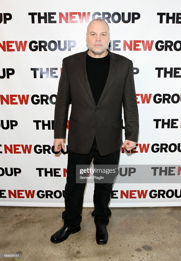 Actor Vincent D'Onofrio attends The New Group Bright Lights Off-Broadway 2013 Gala at Tribeca Rooftop on March 11, 2013 in New York City.
