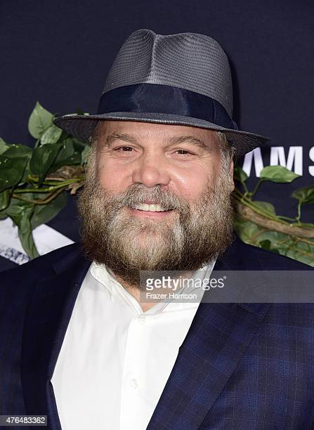 """Actor Vincent D'Onofrio attends the Universal Pictures' """"Jurassic World"""" premiere at Dolby Theatre on June 9, 2015 in Hollywood, California."""