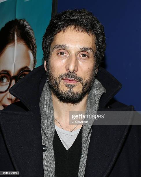 Actor Vincent Elbaz attends the 2015 In French With English Subtitles NY Film Festival Closing Night Award Ceremony at Florence Gould Hall on...