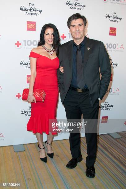 """Actor Vincent Irizarry and guest attend the American Red Cross Centennial Celebration to Honor Disney as the """"Humanitarian Company of The Year"""" at..."""