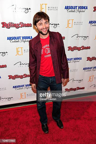 Actor Vincent Kartheiser arrives at the Rolling Stone Hot Party at the Jet Nightclub at The Mirage Hotel Casino on October 1 2010 in Las Vegas Nevada
