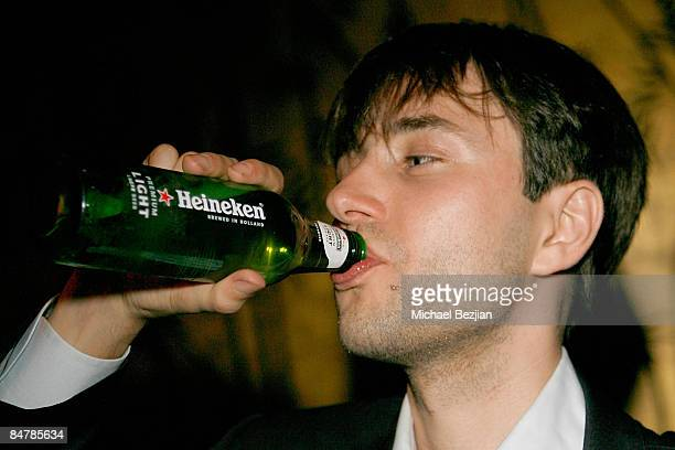 Actor Vincent Kartheiser attends AMC's Mad Men Season Two Wrap Party Sponsored by Heineken on August 23 2008 in Los Angeles California