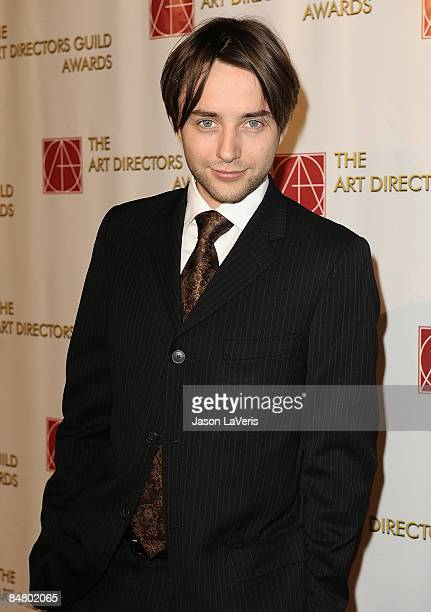 Actor Vincent Kartheiser attends the 13th annual Art Directors Guild Awards at the Beverly Hilton Hotel on February 14 2009 in Beverly Hills...