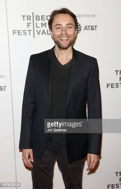Actor Vincent Kartheiser attends the 2017 Tribeca Film Festival Genius screening at BMCC Tribeca PAC on April 20 2017 in New York City